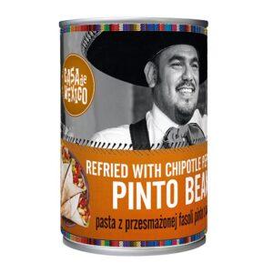 Pasta z fasoli pinto z chipotle 430g Casa de Mexico