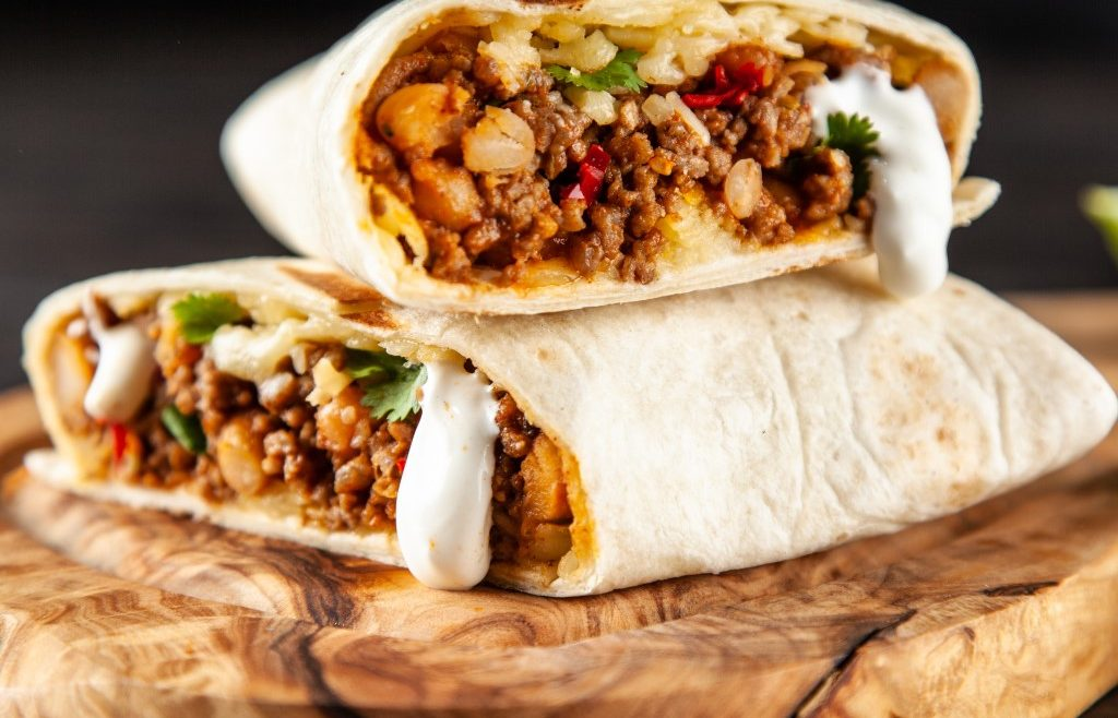 Burrito z wołowiną