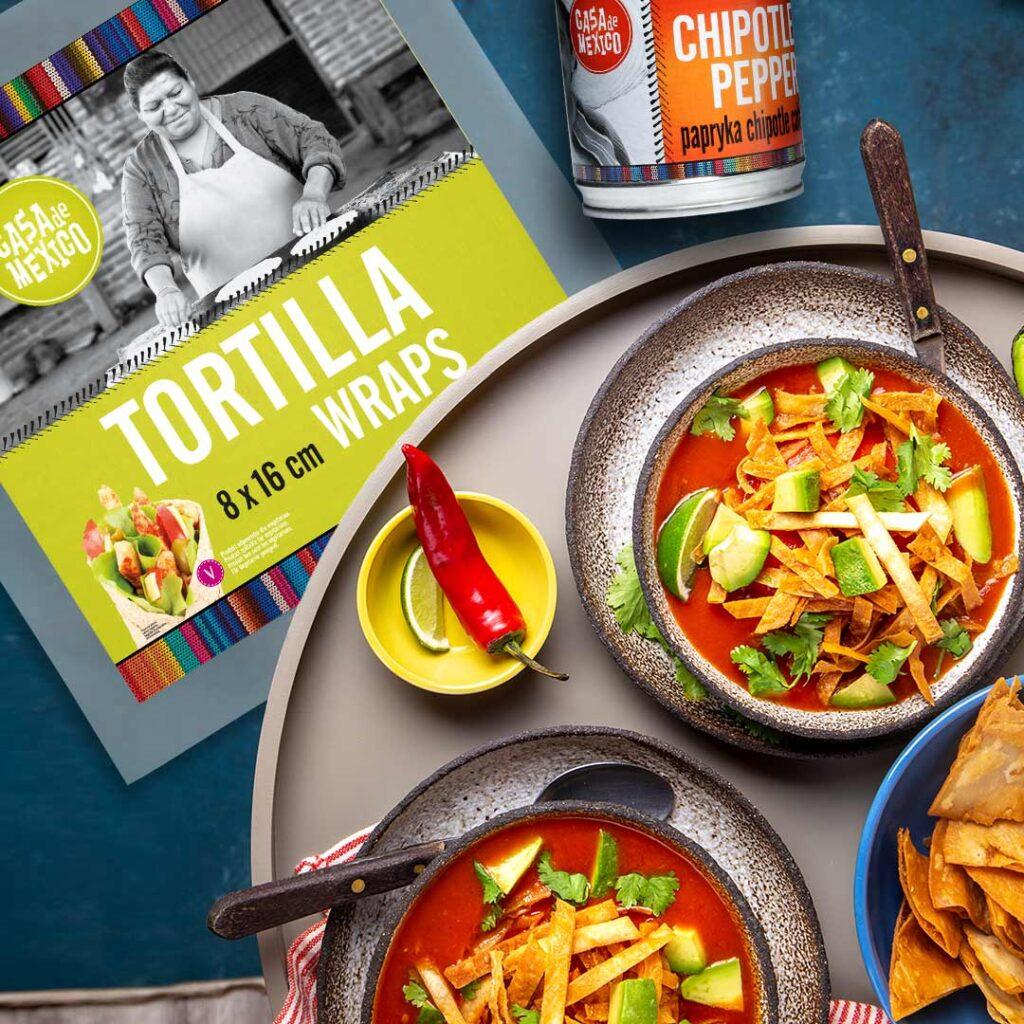 Sopa de Tortilla Casa de Mexico