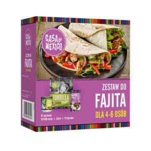 Zestaw Fajitas 475g Casa de Mexico