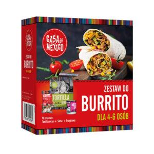 Zestaw Burrito 475g Casa de Mexico